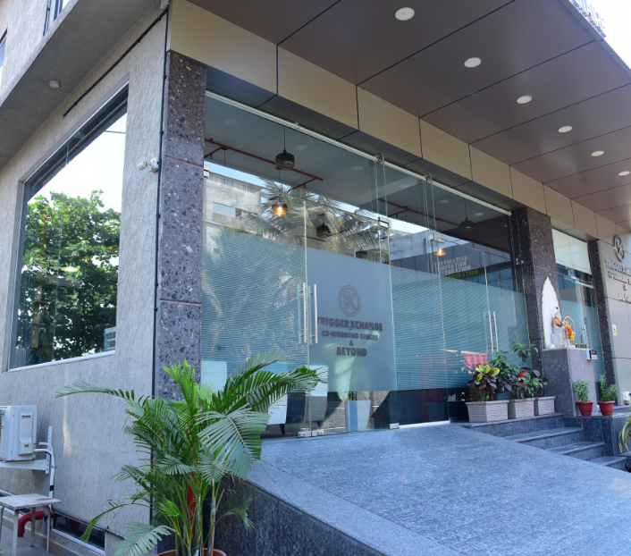 Gate of Trigger Exchange Co-Working space in vashi