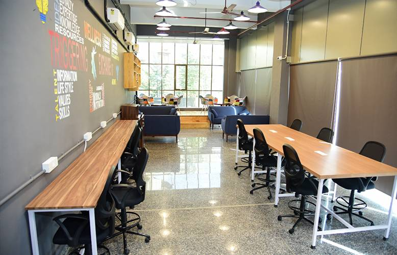 Co-Working office space of trigger xchange in Navi Mumbai